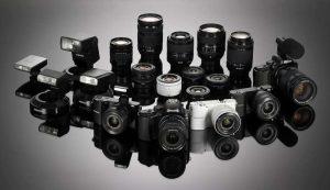 Ремонт зеркальных фотоаппаратов, объективов и вспышек в Днепре