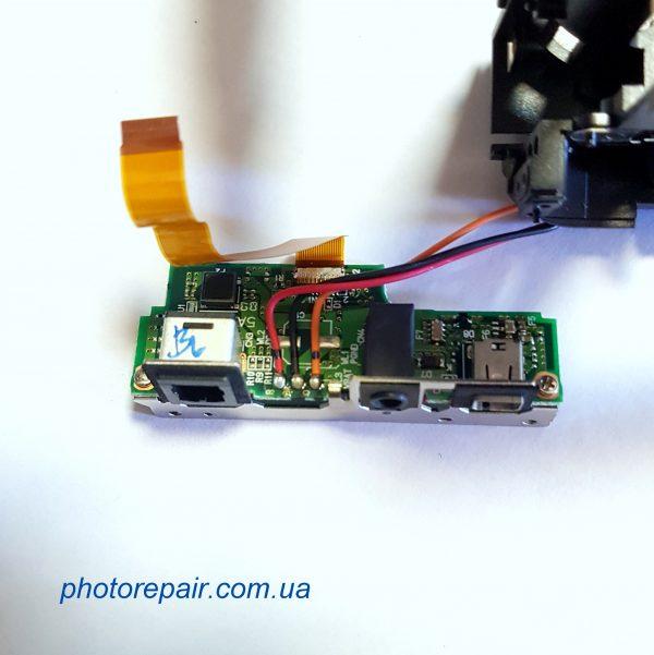 Интерфейсная плата, плата разъемов фотоаппарата Nikon D90, купить запчасти к зеркальным фотоаппаратам Украина, Днепр