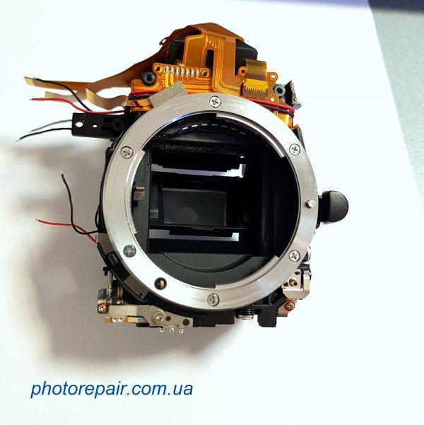 Шахта, пентапризма, датчик автофокуса, зеркало фотоаппарата Nikon D90, купить запчасти к зеркальным фотоаппаратам Украина, Днепр