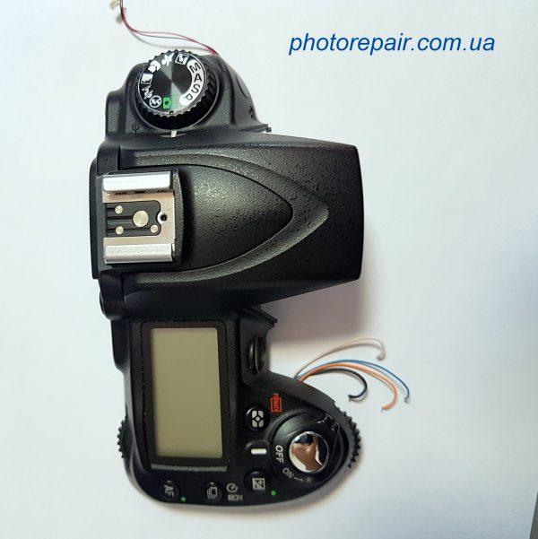 Верхняя панель в сборе для фотоаппарата Nikon D90, купить запчасти к зеркальным фотоаппаратам Украина, Днепр